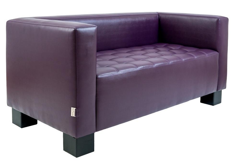 Диван двухместный Спейс фиолетовый Rich