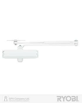 Доводчик для дверей  RYOBI *8800 8803 GLOSSY_WHITE UNIV_ARM EN_2/3 65кг 965мм FIRE