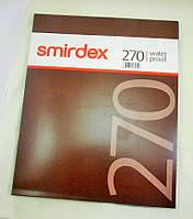 Наждачная бумага шлифовальная Smirdex 230х280 мм в листах Р3000