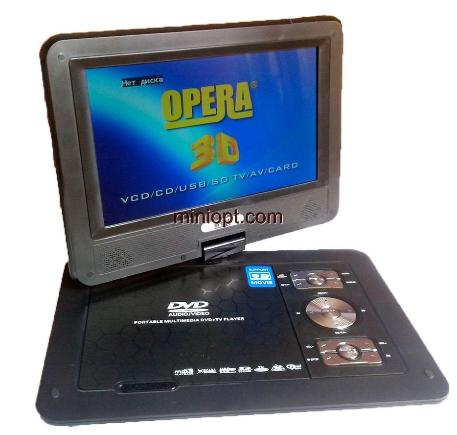 Телевизор портативный Opera OP-1680D. 16,8``, TV, DVD, FM, USB, SD-MMC