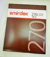 Наждачная бумага шлифовальная Smirdex 230х280 мм в листах Р4000