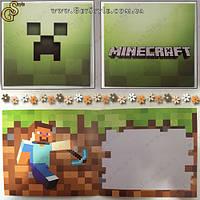 """Фирменная открытка MineCraft - """"Postcard"""""""