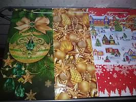 Пакет подарочный новый год большой 44*32*11