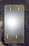 Захист картера двигуна і акпп Infiniti QX70 2013-, фото 7