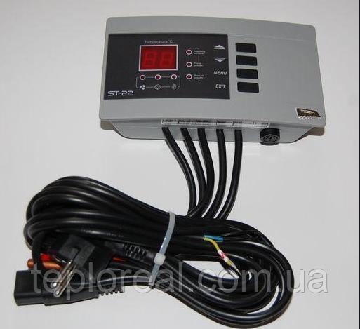 Автоматика для твердопаливного котла Tech ST-22N (Польща)