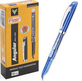 Ручка Кулькова Для шульги Flair Angular Pen 888 синя.