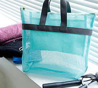 """Летняя """"дышащая"""" MINI-сумка, внутри - непрозрачные кармашки для ценностей."""