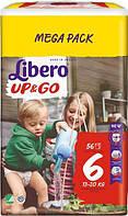 Трусики Libero Up&Go XL 6 MEGA PACK (13-20 кг) 56 шт.