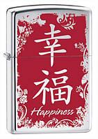 Зажигалка Zippo 28067 CHINESE HAPPINESS (Китайский символ счастья)