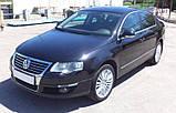 Бампер передній на Volkswagen Passat (Фольксваген Пасат В6 ) 2005-2010, фото 2