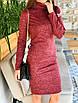 Комфортное и теплое платье-гольф из ангоры, фото 9