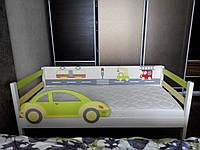 """Кровать детская с бортиком """"Автомобильчик"""", фото 1"""