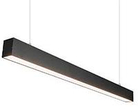 Світлодіодний світильник LED 38Вт 870мм 3000-5000К 3950 Lm IP33 лінійний, накладної