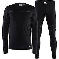 Термокостюм Craft Baselayer Set Man 999985 BLACK/GRANITE L (1905332)