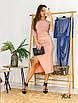 Роскошное мерцающее платье миди из люрекса.с разрезом и открытыми плечами, фото 2