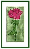 "Вязаный декор ""Роза"""