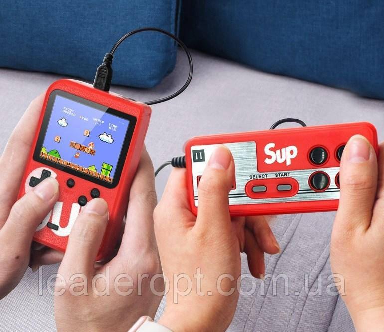 [ОПТ] SUP 400 in 1 - портативная игровая приставка-консоль SUP Game Box с джойстиком 400в1. Retro FC Game Box