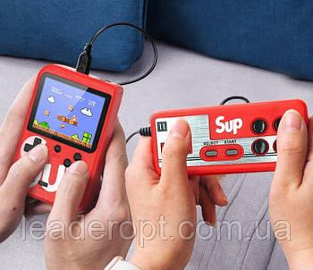 [ОПТ] SUP 400 in 1 - портативна ігрова приставка-консоль SUP Game Box з джойстиком 400в1. Retro FC Game Box