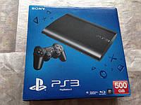Sony PlayStation 3 500gb  super slim (последняя модель) PS3 лицензия
