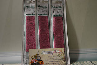Мулине Madeira Metallic №4, цвет - 4013