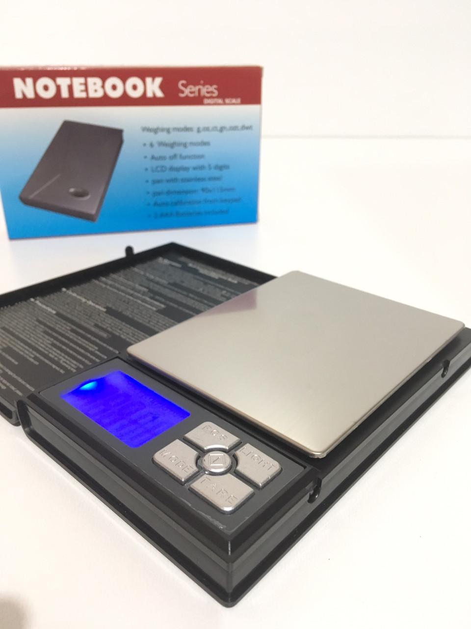 Весы ювелирные NOTEBOOK VS-1108-20/ 2kg-01 (50 шт/ящ)