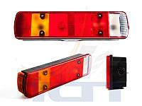 Задній ліхтар з підсвіткою та фішкою лівий  Scania 4, 5  V3001