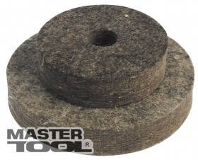 MasterTool  Круг войлочный жесткий 100 мм, Арт.: 08-6010