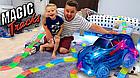 [ОПТ] Дитяча гоночна траса Magic Tracks на 220 деталей з машинкою. Світиться гоночний трек-конструктор., фото 7