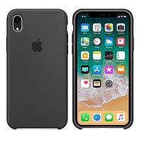 Чехол Silicone Case для Apple iPhone XR Тёмно - Серый