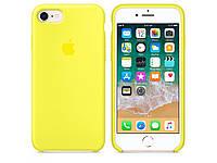 Чехол Apple Silicone Case Apple iPhone 7, iPhone 8 Лимонный