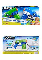 Набор водных бластеров Combo Double Small Stealth Soake X-Shot, 2 вида оружия. 1227