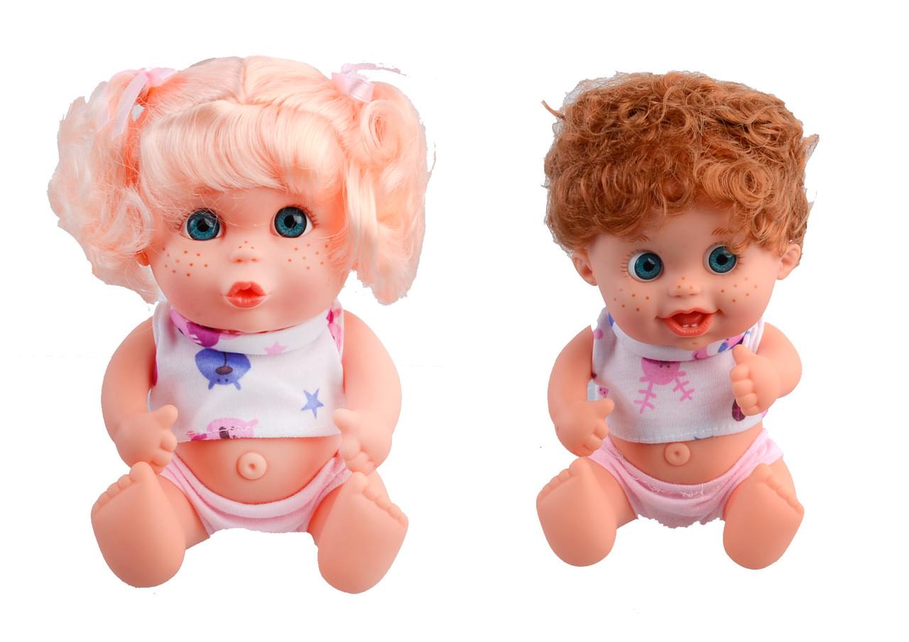 Кукла-пупс  22см., 3 вида, 1101-2