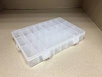 Пластиковый контейнер для мелочей 24 ячейки