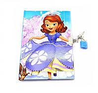 Блокнот на замке для девочки Disney