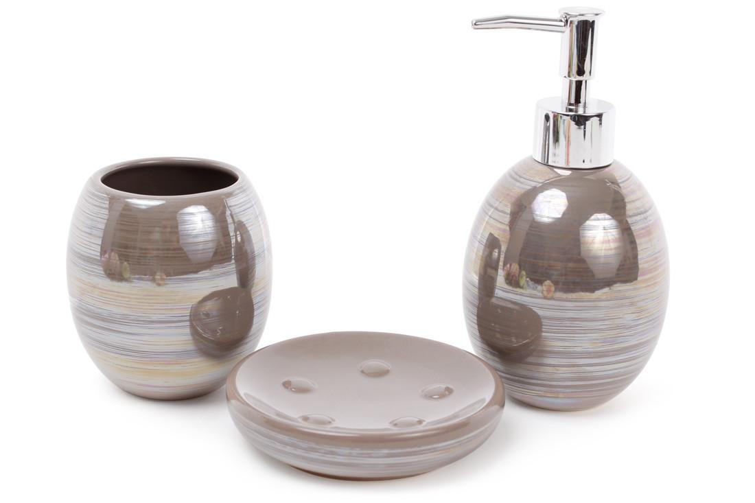 Набор аксессуаров для ванной комнаты 3 пр Bona Di 851-240