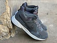 Зимние ботинки (НА МЕХУ) мужские Nike  Air Max (реплика) 1-119 ⏩ [ 42,43,44,45,46 ]