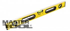 MasterTool  Уровень ПРОФИ с ручками  60 см, 3 капсулы, фрезерованные поверхности, Арт.: 36-0603