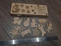 Новогодние коробки и игрушки