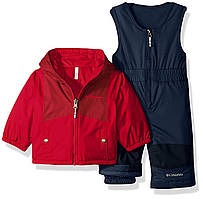 Зимний термо костюм - полукомбинезон и куртка Columbia для мальчика