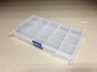 Пластиковый контейнер для мелочей 15 ячеек