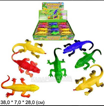 Животные с растущими шариками 24шт. GM171039 6 видов в боксе 38*28*7см цена за бокс(24шт)