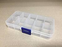 Пластиковый контейнер для мелочей 10 ячеек