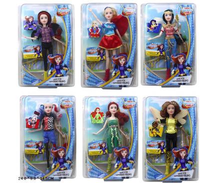 Кукла SHG, шарнирная, 28см, 6 видов, 2089