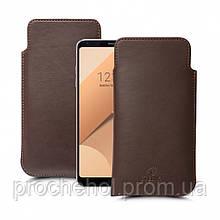 Футляр Stenk Elegance для LG G6 Plus Коричневый