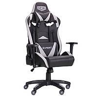 Геймерское кресло VR Racer Expert Wizard черный/серый, TM AMF