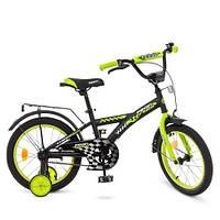 """Двухколесный велосипед Profi Racer 18"""" (T1837) со звонком"""