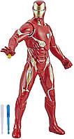 Интерактивная фигурка Hasbro, стреляющий Железный Человек, 33 см - Iron Man, Repulsor Blast