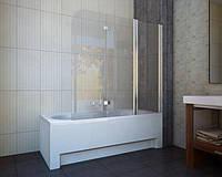 Шторка для ванны Koller Pool Waterfall Line QP 96 R хром, стекло Grape, фото 1