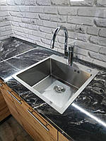Кухонна мийка Germece HANDMADE 5050 HD-D001 квадратна