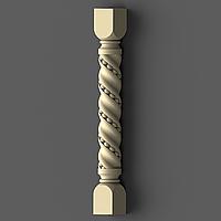 Заходной столб 20 - 970х110х110 мм